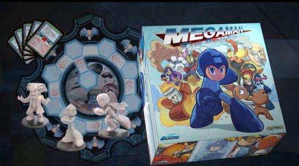 juego de mesa de #megaman via http://consolaytablero.com @consolaytablero visita nuestro blog: http://boardgamescave.wordpress.com