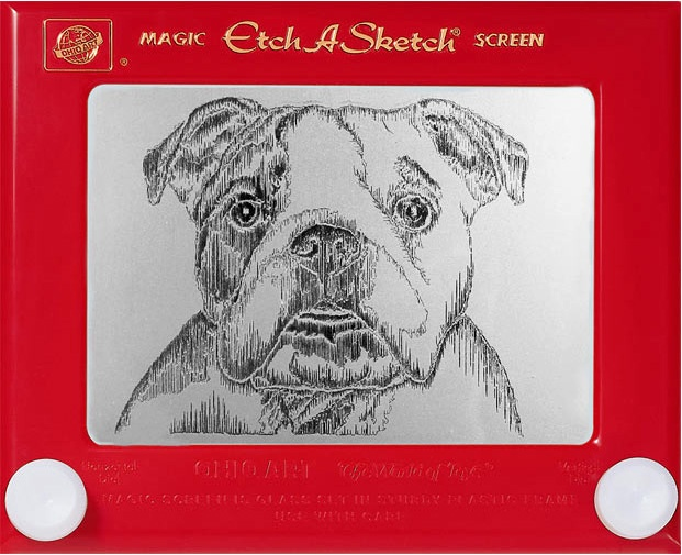 Etch A Sketch Art from Many Different Artists.