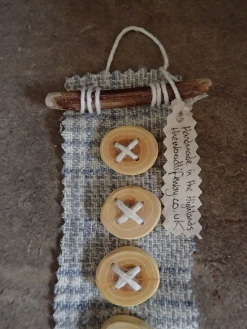 Wooden Buttons. 6 x Natural Handmade from Sea by TheWoodlifeWay