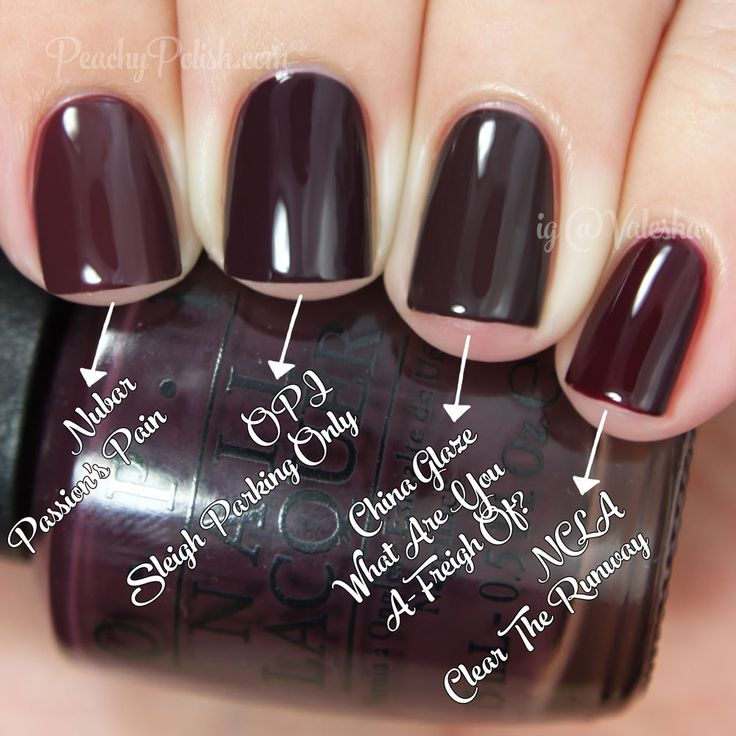 OPI Sleigh Parking Only Comparison | Holiday 2014 Gwen Stefani Collection Comparisons | Peachy Polish