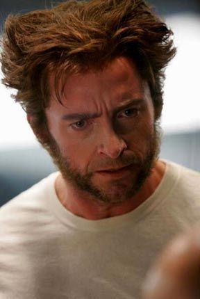 Logan (Hugh Jackman) aka Wolverine in X Men- Last Stand!