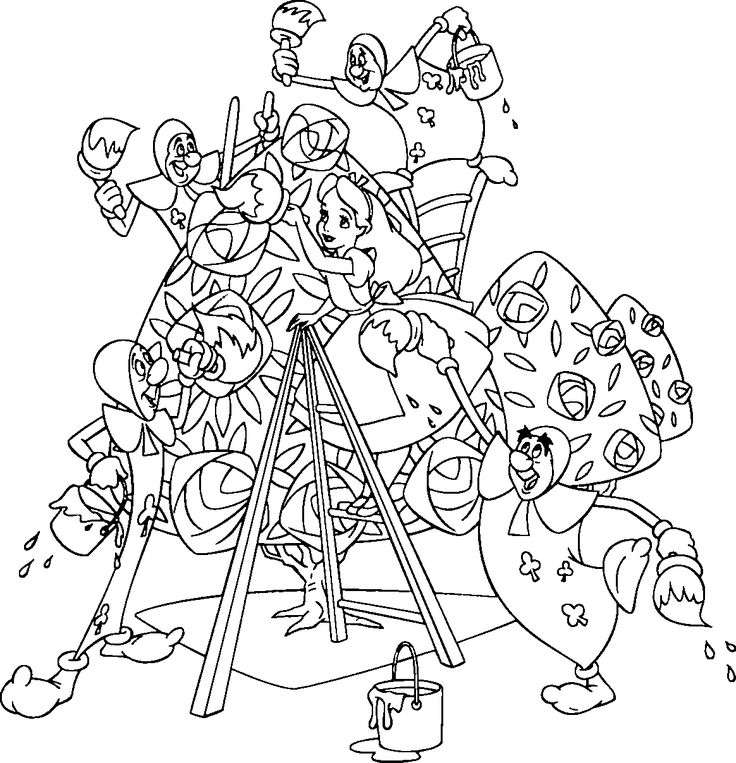 alice in wonderland coloring pages 25 best wallpaper picture image or photo - Alice Wonderland Coloring Pages