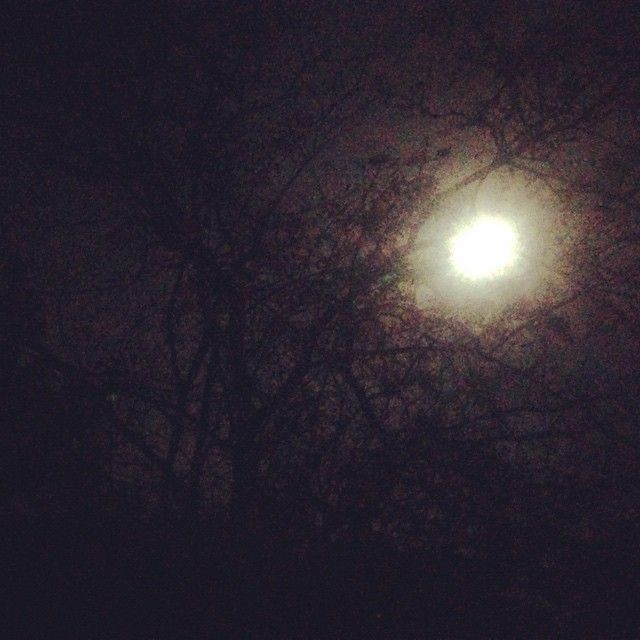 Moon photo made on iPhone in Denmark. Is the moon full? #fullmoon #moon