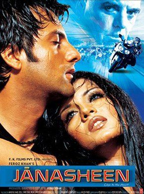 Janasheen Hindi Movie Online - Fardeen Khan, Celina Jaitley, Feroz Khan, Harsh Chhaya, Yash Tonk, Kashmira Shah and Mangal Dhillon. Directed by Feroz Khan. Music by Anand Raj Anand. 2003 [A] ENGLISH SUBTITLE