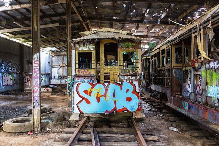 Loftus Tramshed   Abandoned Australia - Urban Exploration in Australia
