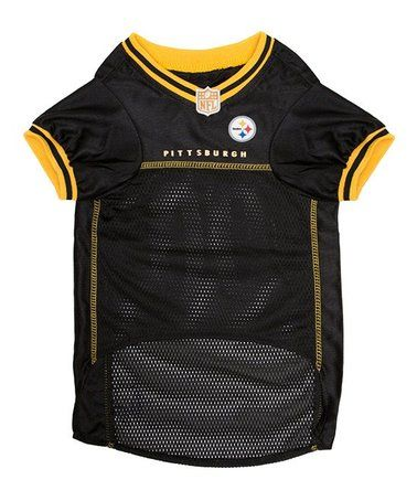 6f15bbea34d Another great find on #zulily! Pittsburgh Steelers Mesh Dog Jersey  #zulilyfinds