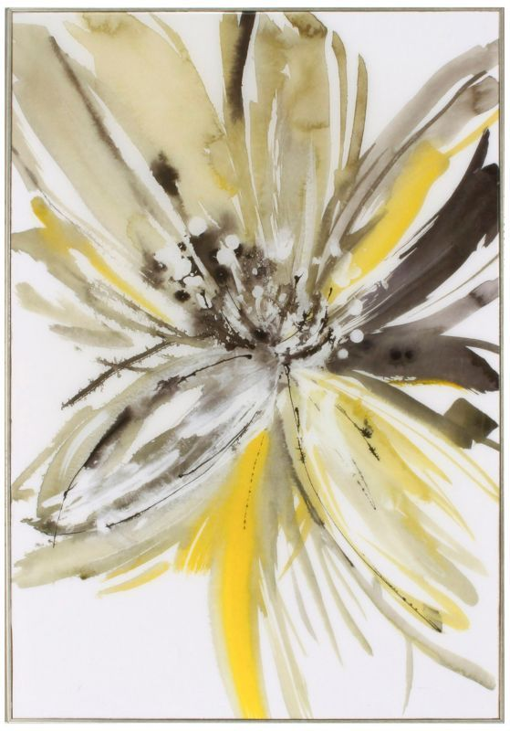 "A Sunny Bloom 35"" High Print Wall Art -"