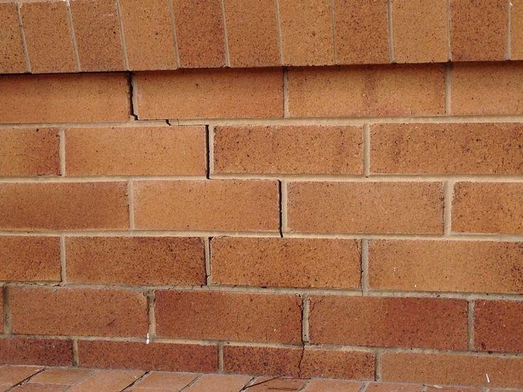 Crack in brickwork  https://www.cornellengineers.com.au