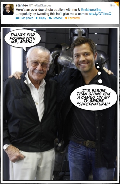 Hyperventilating at the awesomeness of a possible Stan Lee cameo.  (Please?!?!)