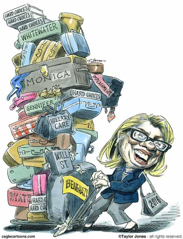 """""""Every biography of Hillary Clinton talks about her goodness, her high-mindedness, her rock-solid dedication to principle. Reading those books, I couldn't imagine what they meant, since Hillary is as much of a shape-shifter and a compromiser as any other politician."""" Thomas Frank"""