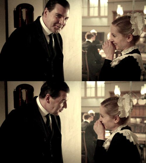 Anna & Mr. Bates, Downton Abbey. - Need to catch up before Season 4.