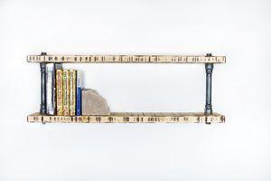Nástěnná police na knihy