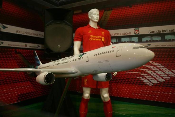 Garuda Indonesia & Liverpool