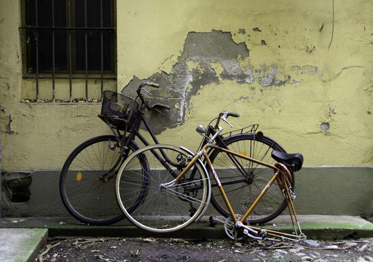 crippled bike