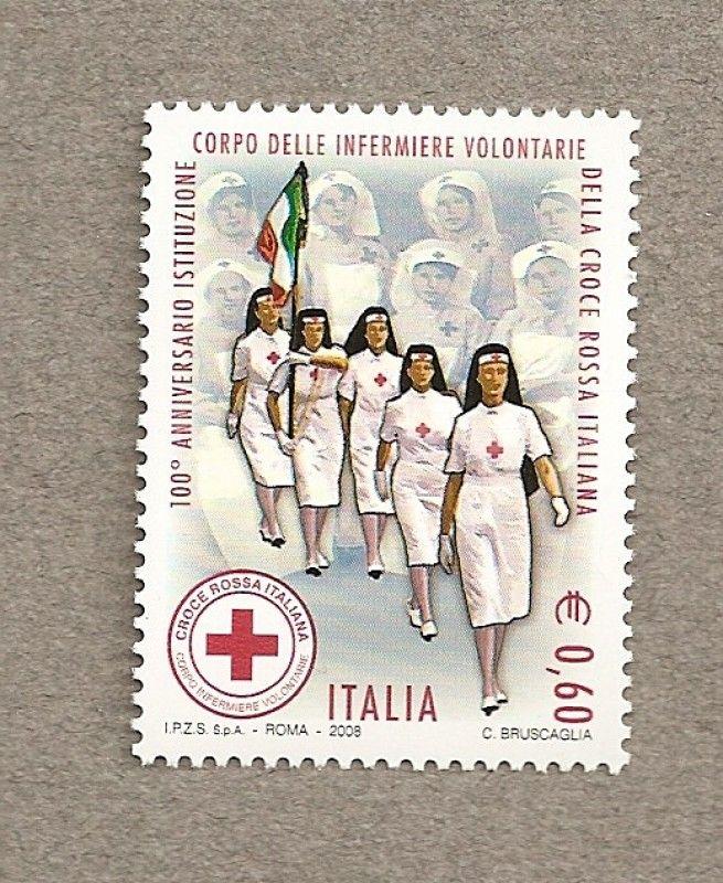 100 Aniv de las enfermeras voluntarias italianas de la Cruz roja