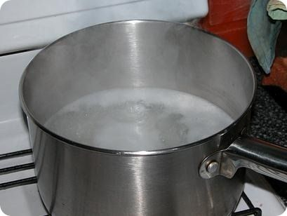 Agua de arroz para la diarrea.
