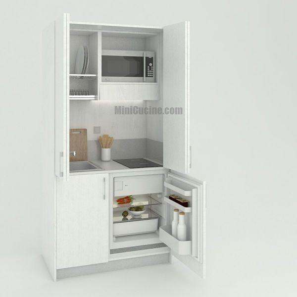 Mini cucina da cm. 109 | Living - Tiny Living | Mini cucina, Cucine ...