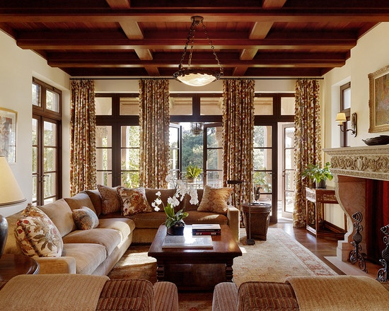Mediterranean Living Room Design Pictures Remodel Decor And Ideas