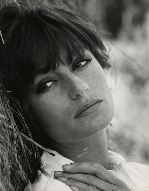 Anouk Aimée. Photographer: Peter Basch, 1960s. #AnoukAimee