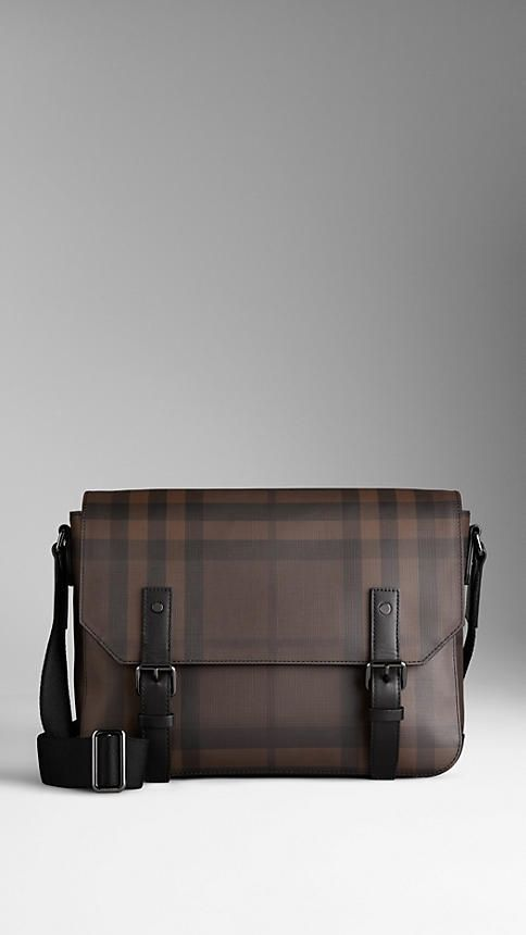 1360bddceb44 Small Smoked Check Messenger Bag