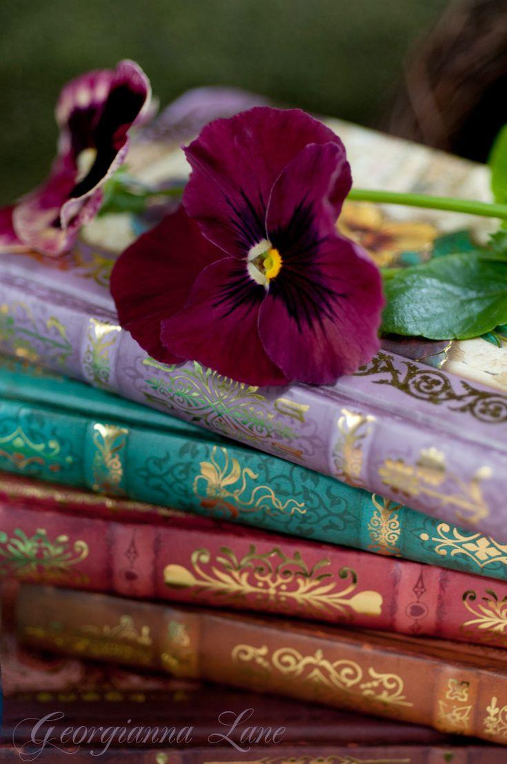pretty books by Goergianna Lane