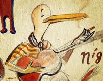 Ducks by Andrea Ferolla by Ferolla Reina , via Behance