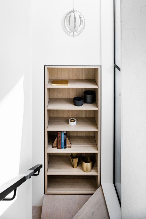 Bell Street House -Australian Timber Closet - Techne Architecture + Interior Design - Architecture Archive 7