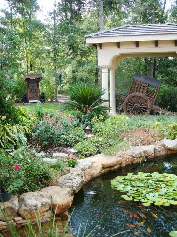 12 best Pond Design images on Pinterest | Backyard ponds ...