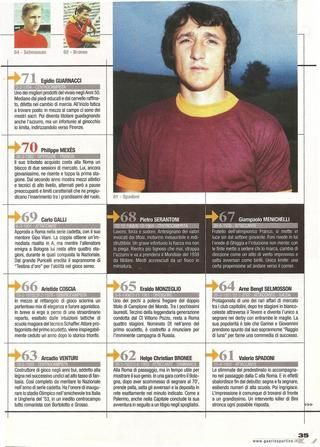 ISSUU - I 100 Migliori giocatori della storia dell'AS Roma di Fabrizio Pastore by Michele Di Gregorio