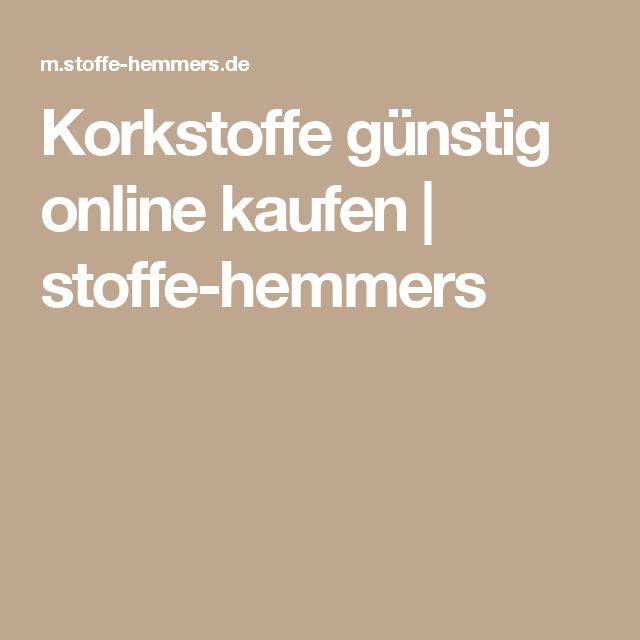 Korkstoffe günstig online kaufen | stoffe-hemmers