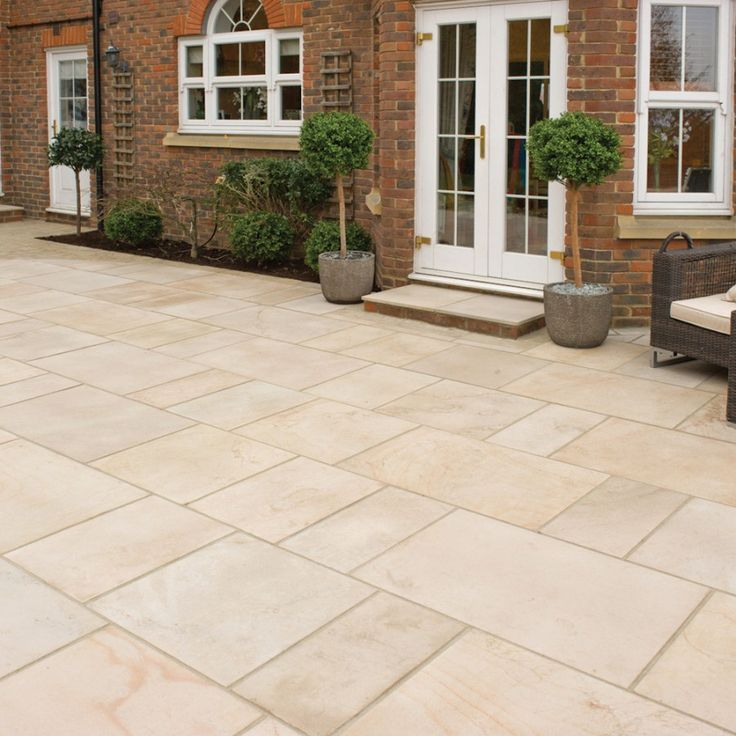 Patio Ideas With Existing Concrete Slab: Best 25+ Paving Slabs Ideas On Pinterest