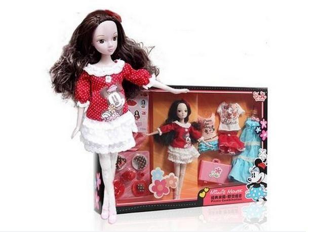 Kurhn куклы для девочек минни изменение моды платье люкс toys для детей дети день рождения рождественские подарки девушки toys 6102 # купить на AliExpress