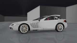 Mercedes McLaren SLR crash / DRIVE! - Plugin