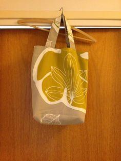 Min Gröna Vrå: Sy din egen tygväska