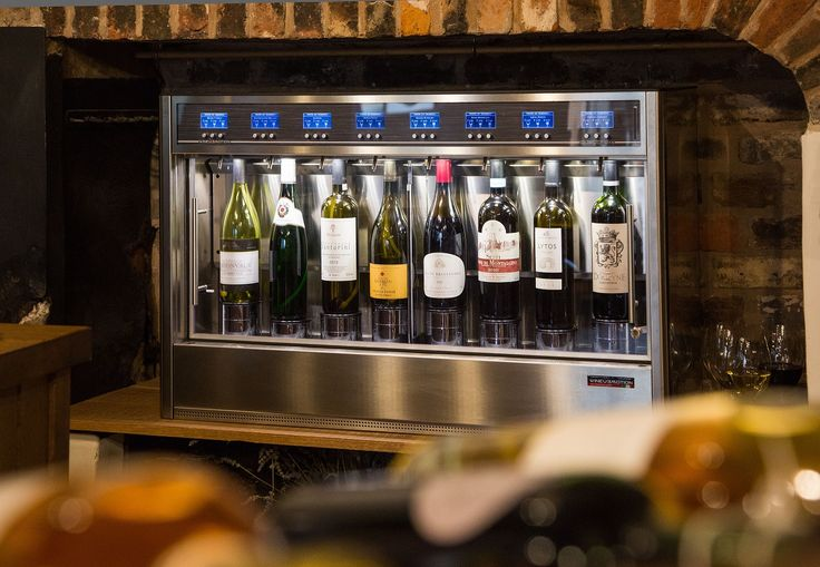 Great design that creates a wonderful showcase for your wines WineEmotion Wine Dispenser