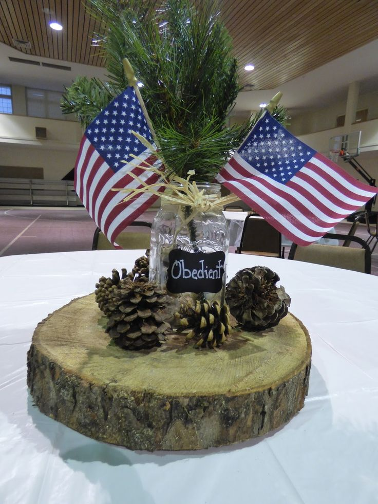 eagle scout court of honor centerpieces - Google Search