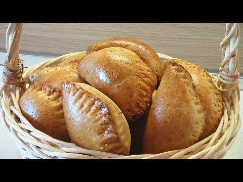 Пирожки из пресного теста с говядиной видео рецепт