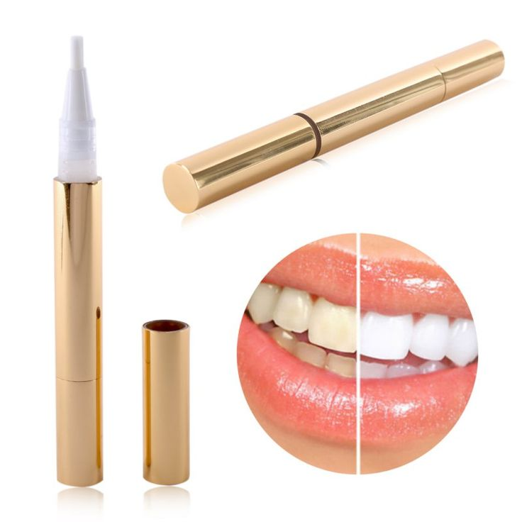 Teeth Whitening Pen Tooth Gel Decolorante Bleach Stain Eraser Remover Istante Donne Bellezza Salute