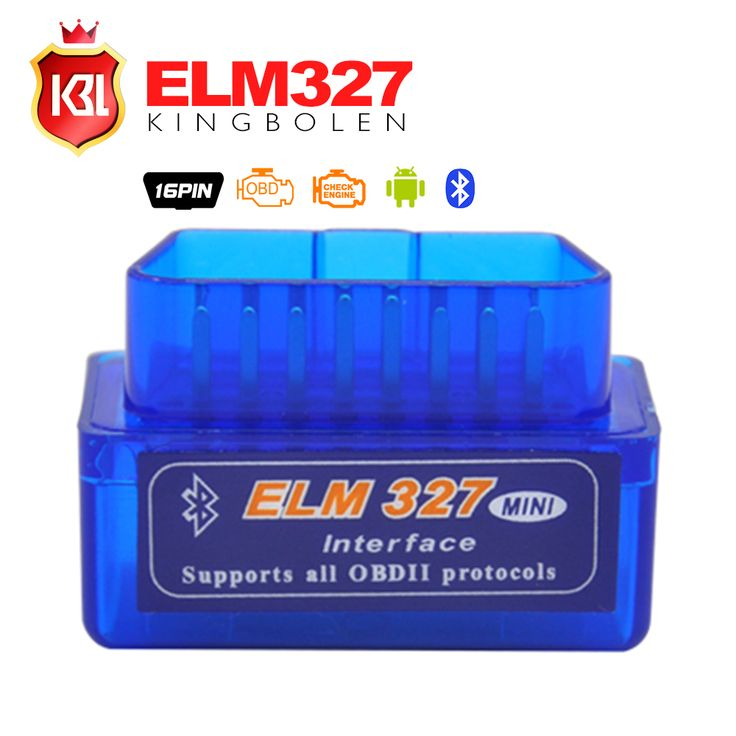NEW Super MINI ELM327 Bluetooth Scanner V2.1 Work Android Torque Wireless Interface Auto CAN-BUS ELM 327 Support OBDII Protocols