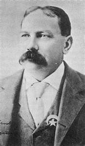 Chris Madsen 1851-1944  Besides being a US Deputy Marshall; Madsen also served in the French Foreign Legion and was one of Teddy Roosevelt's Rough Riders.