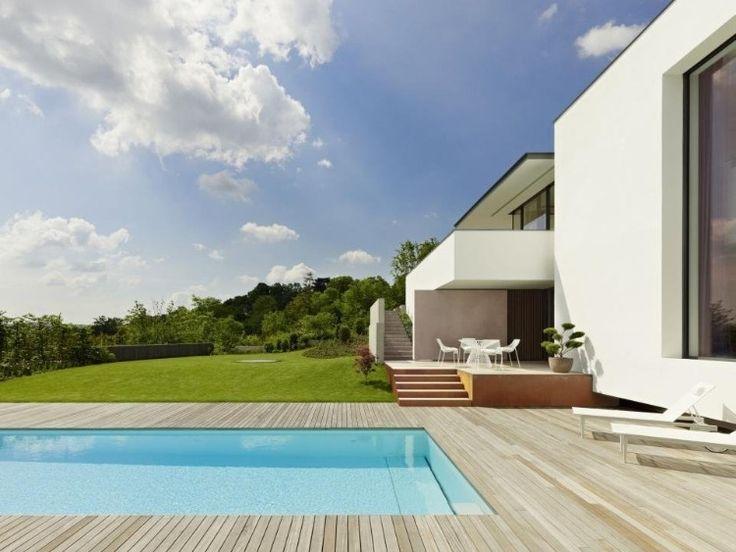Modernes haus mit pool in deutschland  72 besten Pool Bilder auf Pinterest | Moderne häuser, Architektur ...