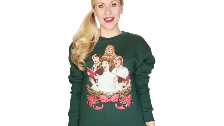 Her Universe's New Release Includes a STAR WARS Holiday Special Sweatshirt