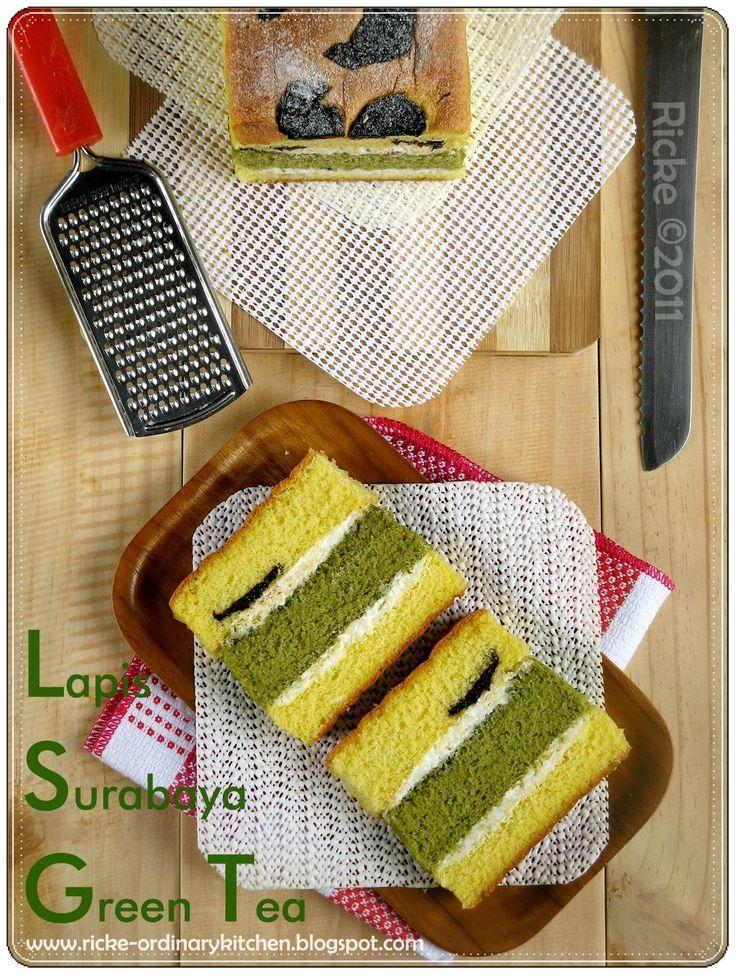 Suka banget sama yang namanya kue-kue bercitarasa dan beraroma green tea. Sejak mengenal yang namanya matcha powder alias green tea bubuk s...