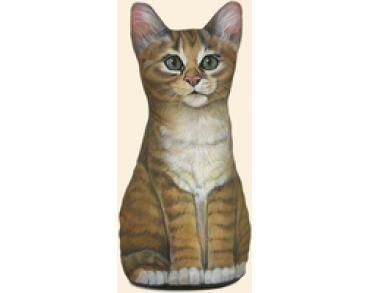 Deurstopper Kitten - Oranje-Wit - Mars & More - Deurstopper Kitten - Oranje-Wit - Mars & More