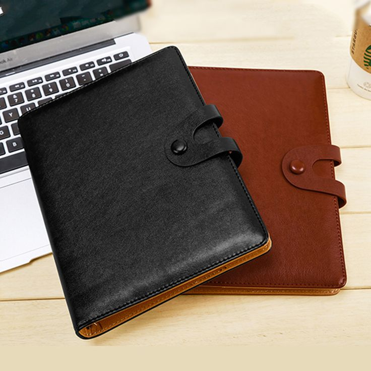 Cheap note book, Buy Quality business book directly from China ring binder planner Suppliers: RuiZe business office notebook creative stationery A5 spiral notebook leather cover 6 ring binder planner loose leaf note book