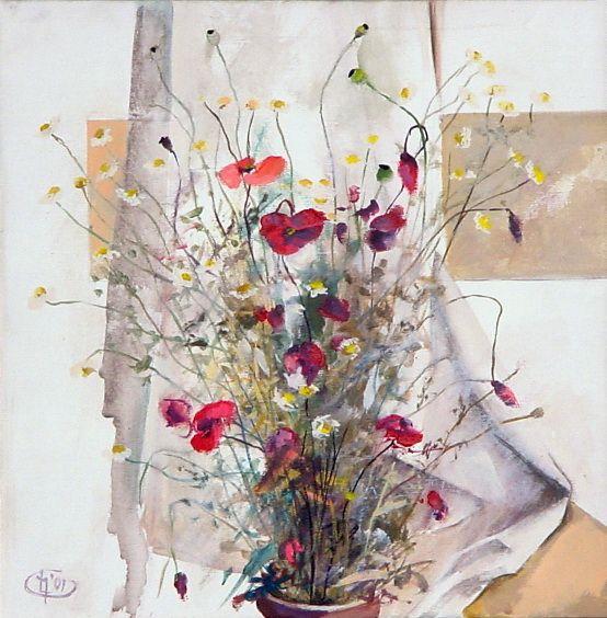 Title: Flori VIII / Style: Acrylic on Canvas
