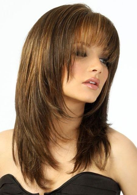 2017 female wavy hair cut | Stylish Medium Layered Haircuts – Haircuts and hairstyles for 2017 ...