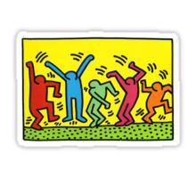 Keith Haring Dance Sticker