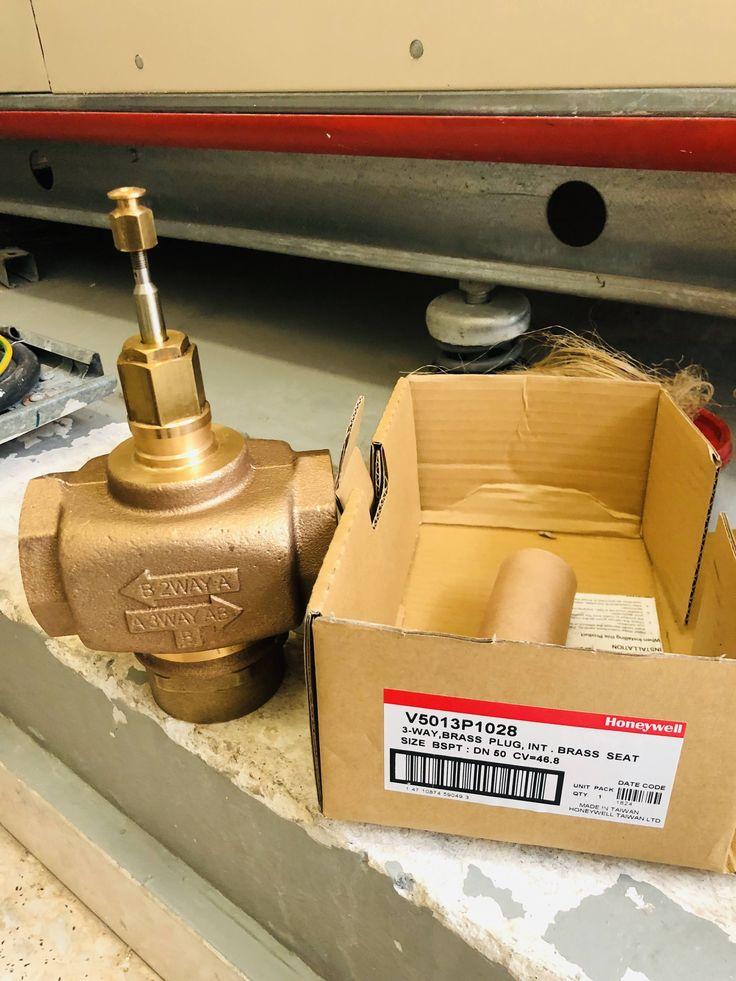 Honeywell 2way valve v5013p brass for ahu fahu hvac