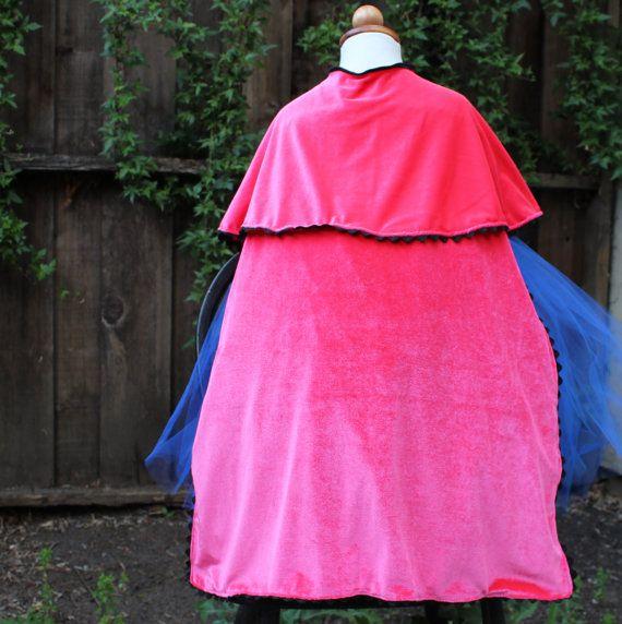 Princess Anna Cape- Frozen costumes